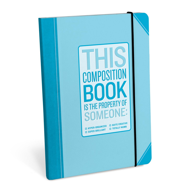 Hyper Organized Composition Notebook / Anteckningsbok - KNOCK KNOCK