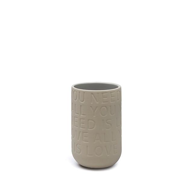 KÄHLER LOVE SONG vas - sand (H170 mm)