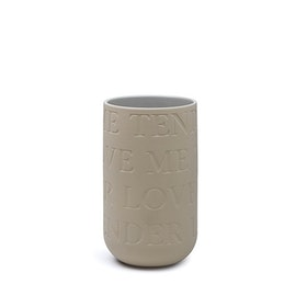 KÄHLER LOVE SONG vas - sand (H220 mm)