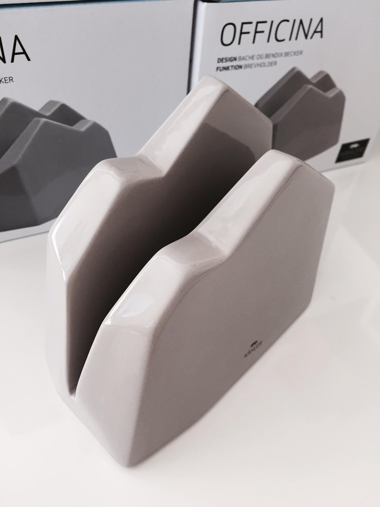 KÄHLER OFFICINA brevhållare - När design är som bäst!
