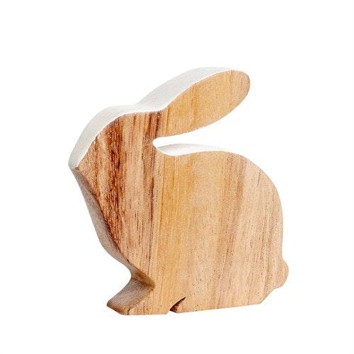 Kanin i trä från stilsäkra danska HÜBSCH