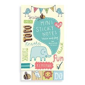 Kate Sutton Note and Flag Mini Sticky Notes (300 st klisterlappar) - GALISON New York