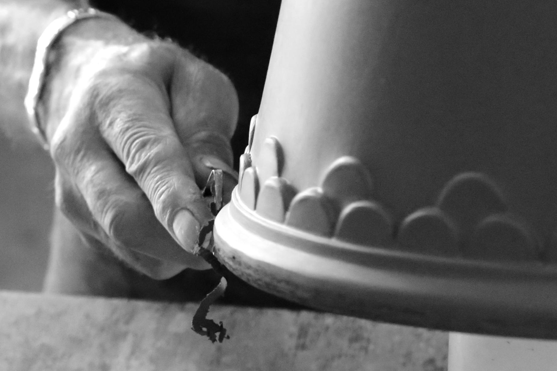 Köpenhamn kruka (grå 14 cm) - Bergs Potter