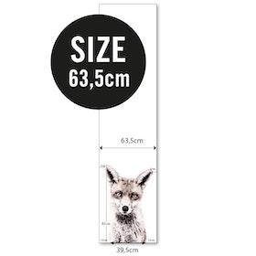 Magnettapet (63,5 x 265 cm) - RÄV - från Groovy magnets