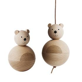 Träbjörn / designbjörn från OYOY