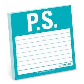 P.S. post-it lappar (100 blad) - från KNOCK KNOCK