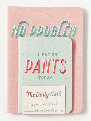 The Daily Note 3-pack anteckningsböcker - Abrams Noterie