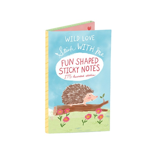 Wild Love Shaped Sticky Notes / klisterlappar / post-it (175 st) - GALISON New York