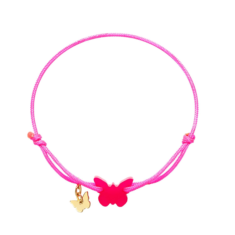 Armband med fjäril fr BORBOLETA - finns i 3 färger!