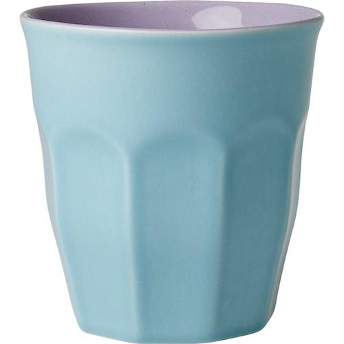 Stor keramikkopp / keramikmugg från RICE - Mint & Lavendel