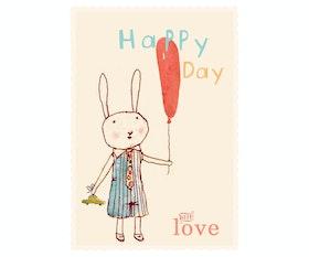 T & F Happy Day boy - kalaskort - från MAILEG