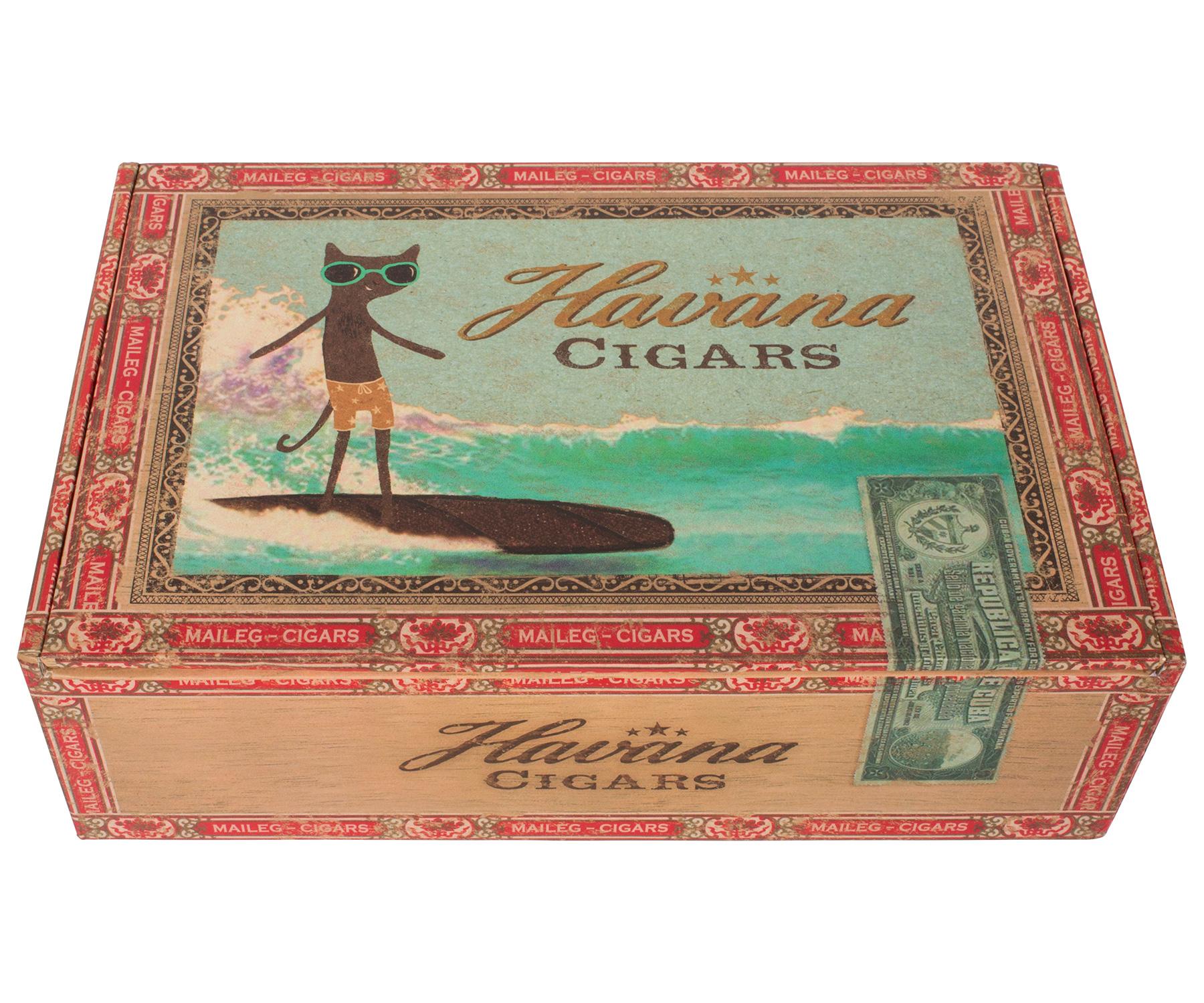Mamma & Pappa Mus i Cigarrlåda från MAILEG