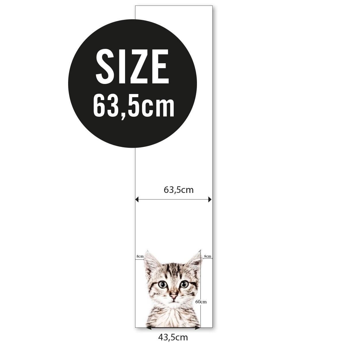 Magnettapet (63,5 x 265 cm) - KATT - från Groovy magnets
