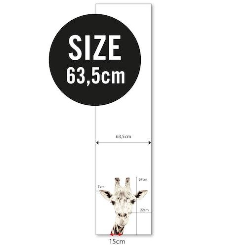 Magnettapet (63,5 x 265 cm) - GIRAFF - från Groovy magnets