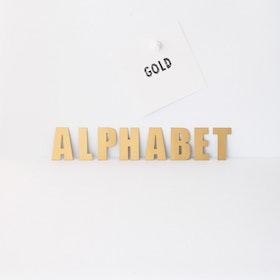 Magnet set Alfabet Guld - Groovy Magnets