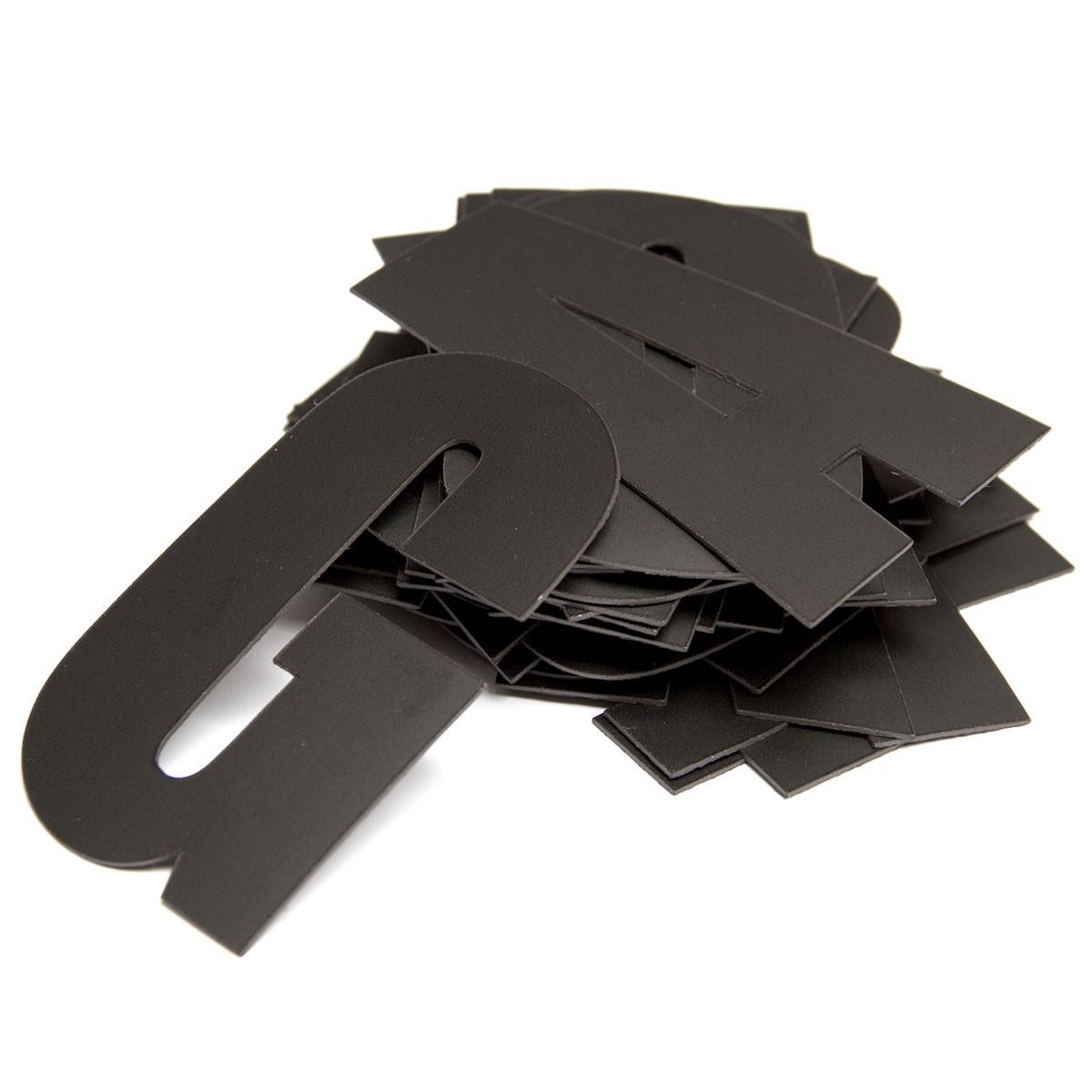 Magnet set Alfabet Svart - Groovy Magnets