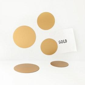 Magnet set Cirklar Guld - Groovy Magnets