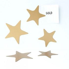 Magnet set Stjärnor Guld - Groovy Magnets