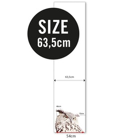 Magnettapet (63,5 x 265 cm) - UGGLA - från Groovy magnets