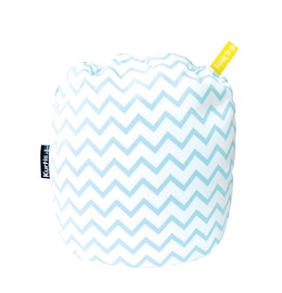 Kurtis Mini Nursing Pillow, Zig-zag Turquoise