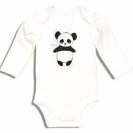 Ekologinen vauvan body Kurtis Panda