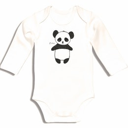 Ekologinen vauvan body Kurtis Panda