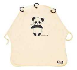 Pram Curtain Kurtis Panda Sand