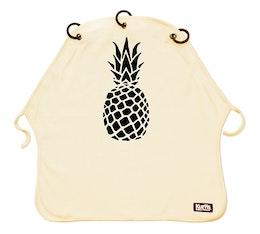 Vaunuverho Kurtis Pineapple Hiekka