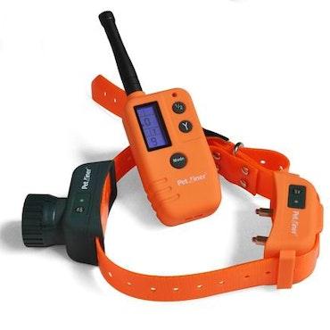 Fjärrstyrt Tränings halsband för f 2.Hundar