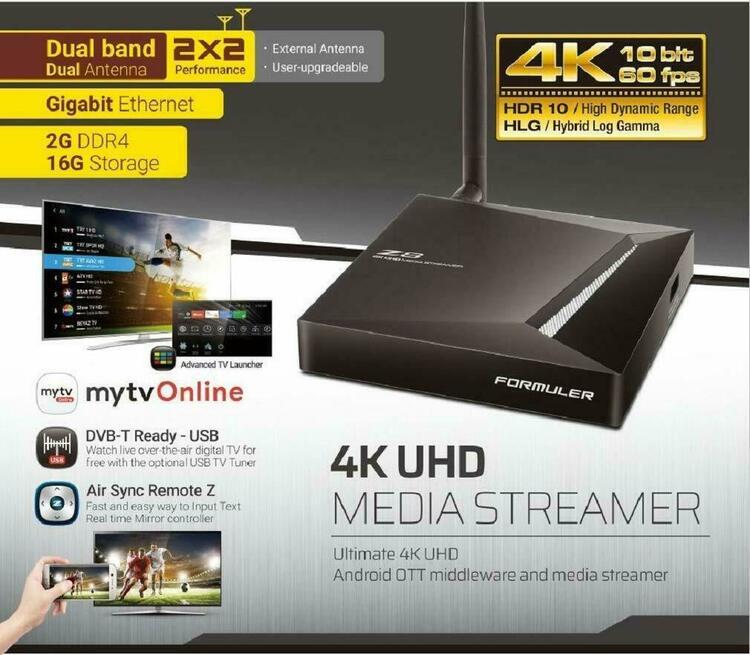 Formuler 8Z+ IPTV BOX 4K