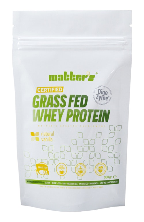 CERTIFIED GRASS-FED WHEY VANILLA 900G