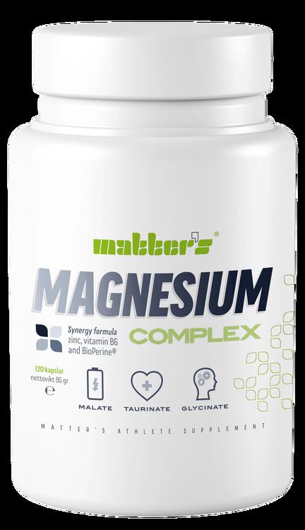 MAGNESIUM COMPLEX 120 VEG. KAPSLAR
