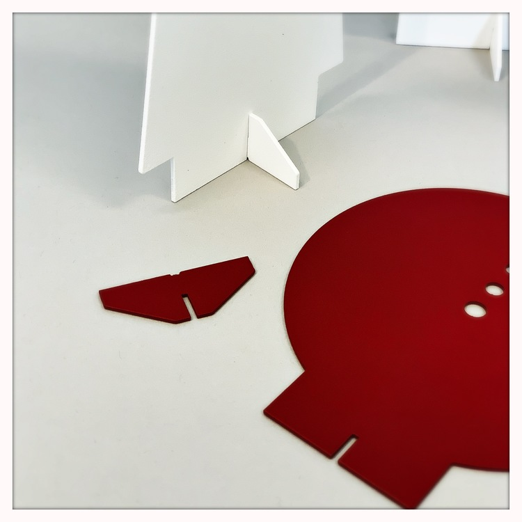 Tomte - röd eller grå