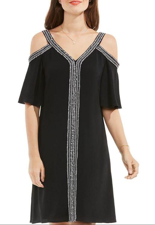 Svart snygg klänning från Vince Camuto (storlek M) - House of Leo 3b6d6318348ae
