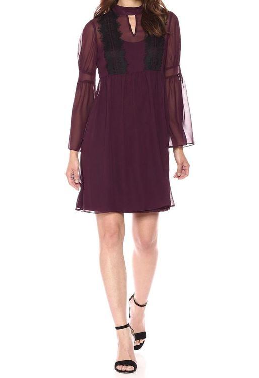 Vinröd klänning från Jessica Simpson (storlek L) - House of Leo 985f09cf5cc51