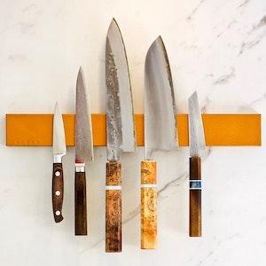 Lt. Brown Leather Knifeholder