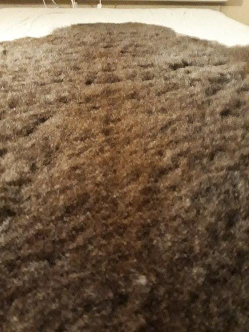 Gråbrunt lammskin (#10)