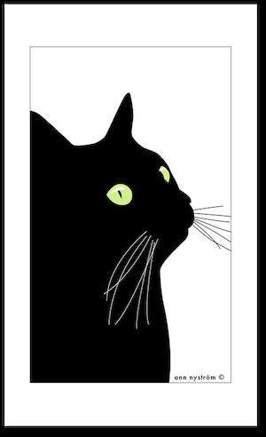 Handduk Svarta Katten