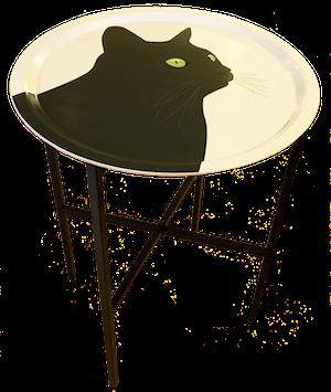 Brickbord Svarta Katten 38 cm