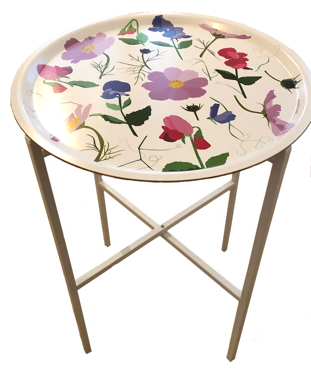 "Brickbord ""Det Blommar"" 46 cm"
