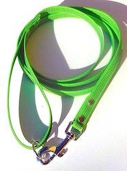 Antiglid koppel 15 mm med handtag, limegrön
