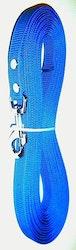 Antiglid koppel/lina 20 mm utan handtag, blå