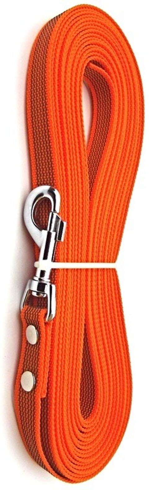Antiglid koppel/lina 20 mm utan handtag, orange