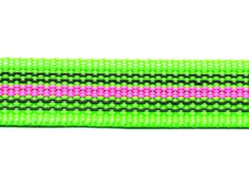 Antiglid koppel med handtag, Grön/rosa