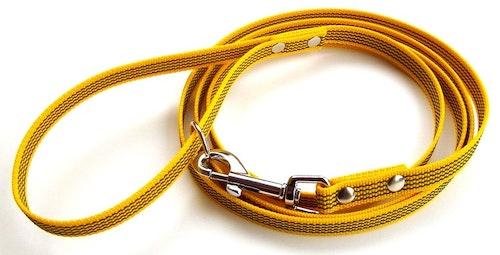Antiglid koppel 15 mm med handtag, gul