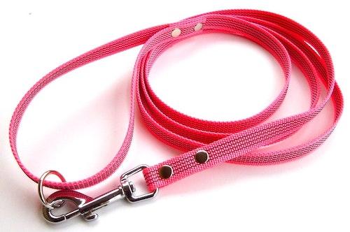 Antiglid koppel 15 mm med handtag, rosa