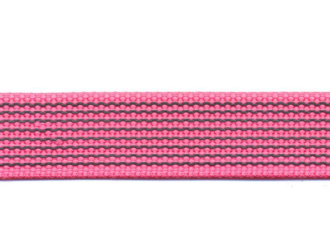 Antiglid koppel/lina 15 mm utan handtag, rosa