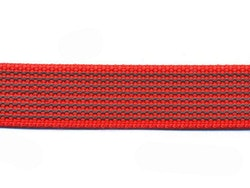 Antiglid koppel/lina 15 mm utan handtag, röd
