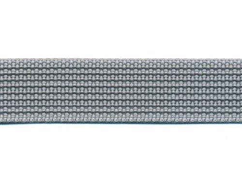 Antiglid koppel/lina 15 mm utan handtag, silver