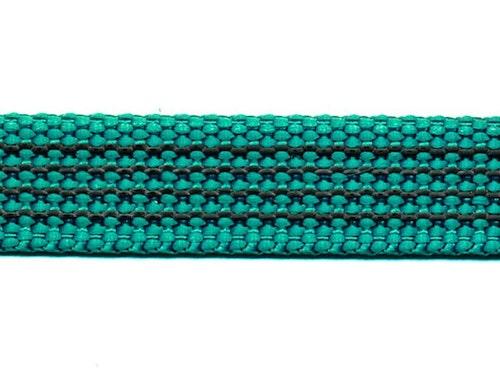 Antiglid koppel/lina 15 mm utan handtag, aqua-grön